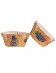 PJ Masks™-Cupcake-Förmchen Backzubehör 25 Stück bunt 5 x 3 cm