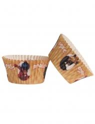 Ladybug und Cat Noir™-Muffin-Förmchen für Geburtstage 25 Stück bunt 5x3cm