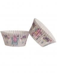 Peppa Wutz™-Cupcake-Förmchen Backzubehör bunt 25 Stück 5 x 3 cm