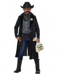 Cowboy Sheriff-Kostüm für Kinder Wilder Westen dunkelblau