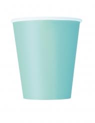 Trinkbecher Partydeko 8 Stück mintfarben 266 ml