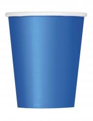 Partybecher Trinkbecher Tischzubehör blau 8 Stück 266 ml
