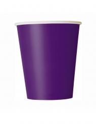 Trinkbecher Halloween-Zubehör für Ihre Festtafel 8 Stück lila 266 ml