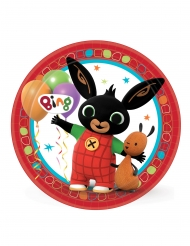Bing™-Pappteller Kindergeburtstag-Deko 8 Stück 23 cm