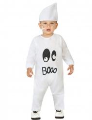 Niedliches Geist-Kostüm für Babys weiß