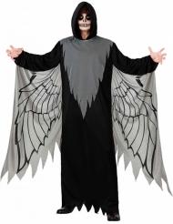 Todes-Engel Halloween-Kostüm für Herren schwarz-grau