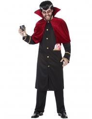 Vampir-Kostüm gotische-Verkleidung für Halloween schwarz-rot