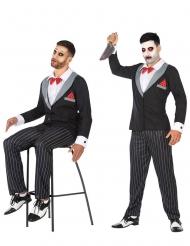 Marionette Mörderpuppen-Kostüm für Herren Halloween