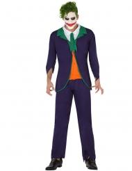 Verrückter Harlekin Kostüm für Herren