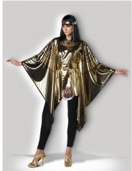 Ägyptische-Königin Cleopatra-Kostüm für Damen gold-schwarz