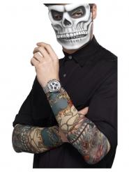 2 Tattoo-Ärmel Dia de los Muertos