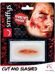 Horror-Schnittwunde Halloween-Spezialeffekt auf Wasserbasis rot