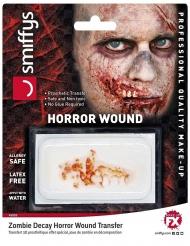 Kiefer Horror Wunde Abziehbild Halloween