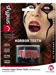 Dämonen-Zähne Halloween Kostüm-Accessoire für Erwachsene