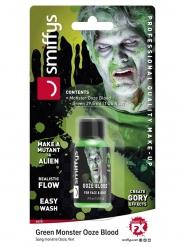 Kunstblut in der Flasche Halloween-Zubehör grün 29,5 ml