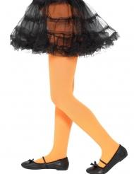 Strumpfhose für Kinder Kostüm-Accessoire orange