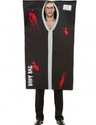 Morbides Leichensack Kostüm für Erwachsene Halloween