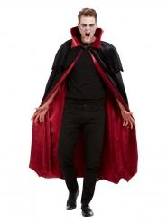 Exklusiver Vampir-Umhang für Erwachsene Halloween schwarz-rot