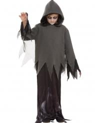 Gespenstisches Phantom-Kostüm für Jungen Halloween schwarz-grau