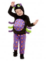 Niedliches Spinnen-Kostüm für Kinder Halloween-Verkleidung bunt