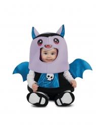 Fledermaus-Kostüm für Babys blau-violett