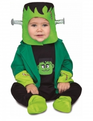 Frankenstein-Kostüm für Babys schwarz-grün