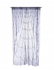 Spinnennetz Vorhang Halloweendeko 220 x 160 cm