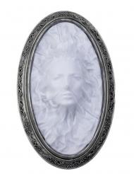 Wanddeko Geisterfrau Halloween-Deko silber-grau 26x41x4cm