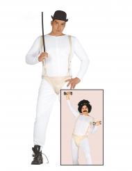 Soziopathen Kostüm für Herren Filmfigur weiß