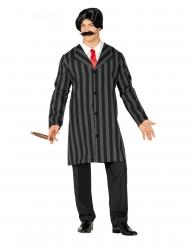 Gentleman-Kostüm für Herren schwarz-grau