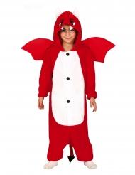 Kleiner Teufel Halloween-Kostüm für Jungen rot-weiss
