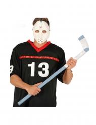 Hockeyschläger Kostümzubehör Halloween 90 cm