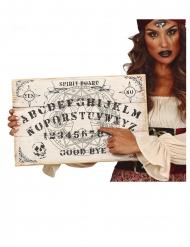 Ouija-Brett Halloween-Partyzubehör beigefarben-schwarz 48x32cm