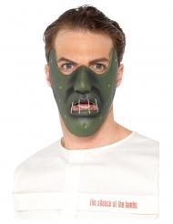 Hannibal Lecter™-Maske für Erwachsene Lizenz-Produkt grün
