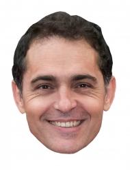 Pedro Alonso Pappkarton Maske Bankräuber für Erwachsene