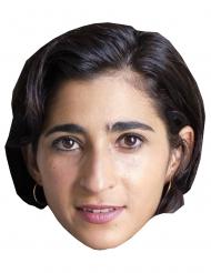 Alba Flores Pappkarton Maske Bankräuber für Erwachsene