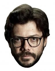 Alvaro Morte Pappkarton Maske für Erwachsene Bankräuber