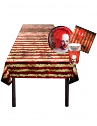 Horrorclown Tischdeko-Set für 6 Personen