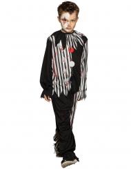 Clownkostüm für Kinder Halloweenkostüm 2-teilig