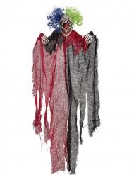Horror-Figur Hänge-Dekoration für Halloween schwarz-rot 65 cm