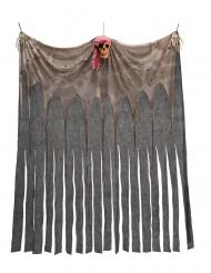 Geister-Vorhang Raumdekoration für Piraten bunt 200 x 150 cm