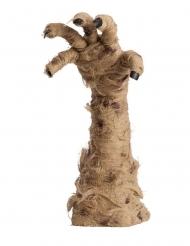 Mumienhand animiert Deko-Gegenstand für Halloween braun 40 cm