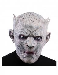 Finsterer König Halloween-Maske für Erwachsene grau