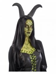 Hexen-Hörner für Erwachsene dunkelgrau Halloween