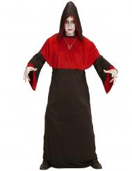 Endzeit-Dämon Halloween-Kostüm für Erwachsene rot-schwarz