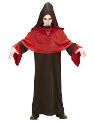 Dämon der Endzeit Halloween-Kinderkostüm braun-rot