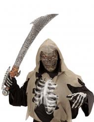 Skelett-Monstermaske für Kinder Halloween-Zubehör braun-beige
