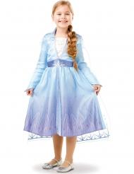 Elsa Frozen 2™-Kostüm für Mädchen Lizenz-Kostüm blau-lila