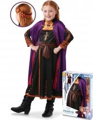 Frozen 2™ Prinzessin-Anna-Kostüm für Mädchen Disney-Verkleidung bunt