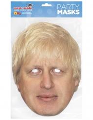 Boris Johnson-Maske aus Pappkarton Kostüm-Accessoire